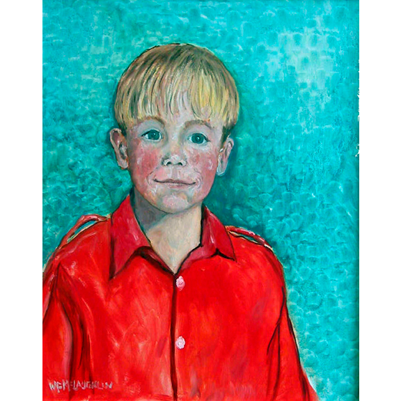 Boy in Red Shirt